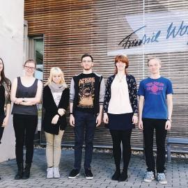 """Seminarwoche im Sonderpädagogischen Förderzentrum für Körperbehinderte """"Dr. Friedrich-Wolf"""" Hoyerswerda"""