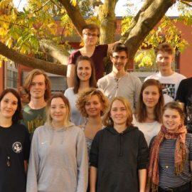 1. FÖJ-Gruppensprechertreffen Alte Schule Gohlis Dresden 15.10. – 16.10.2017