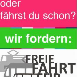 """Stellungnahme der Landessprecher*innen FÖJ und FSJ Sachsen zur Einführung des """"Junge-Leute-Tickets"""" vom Verkehrsverbund Mittelsachsen"""