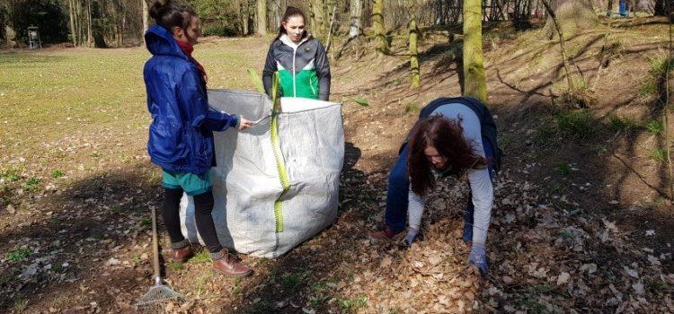 Frühjahrsputz im Kinder- und Jugendverein Seifhennersdorf e.V. – Landesaktionswoche 2019