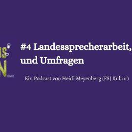 Landessprecherarbeit, Podcasts und Umfragen – der neue Podcast geht online