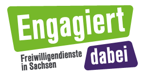 Engagiert dabei / Fachstelle Freiwilligendienste in Sachsen